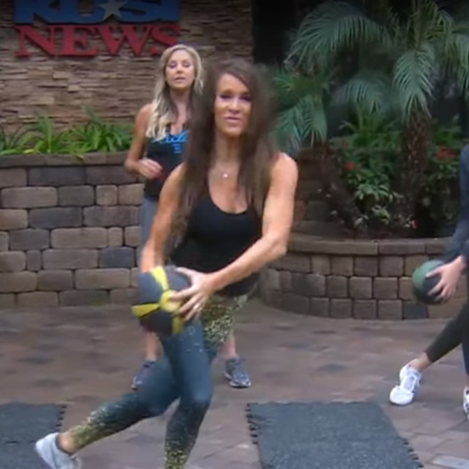 Medicine Ball Workout with Kathy Babcock