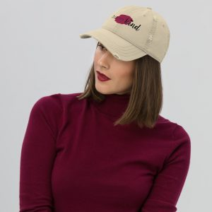 Human Kind Distressed Hat by SD HUMANkind