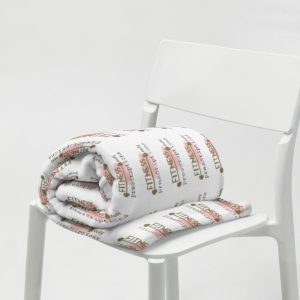Fitness Over Prescriptions Throw Blanket by SD HUMANkind