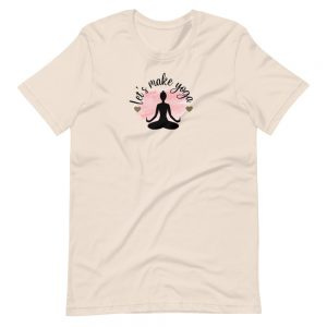 Let's Make Yoga Tee by SD HUMANkind
